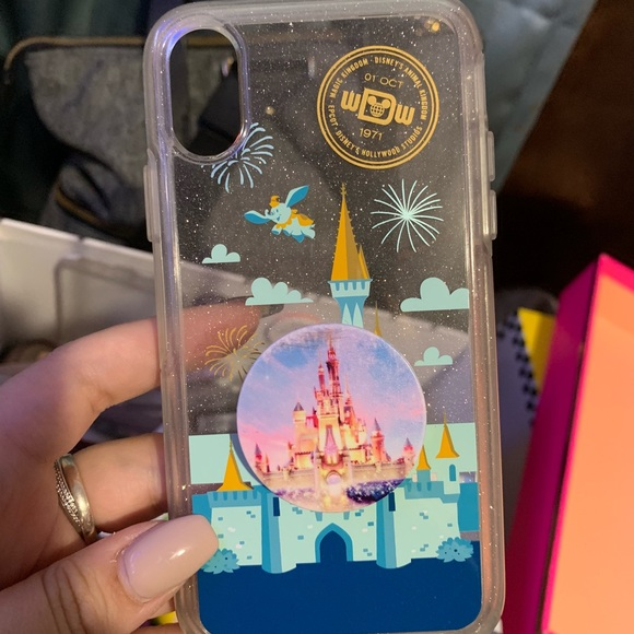 check out 94c37 8895b Disney Otterbox iPhone X Disney World castle case
